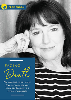 Claire Oberry DYW Founder and author of Facing Death